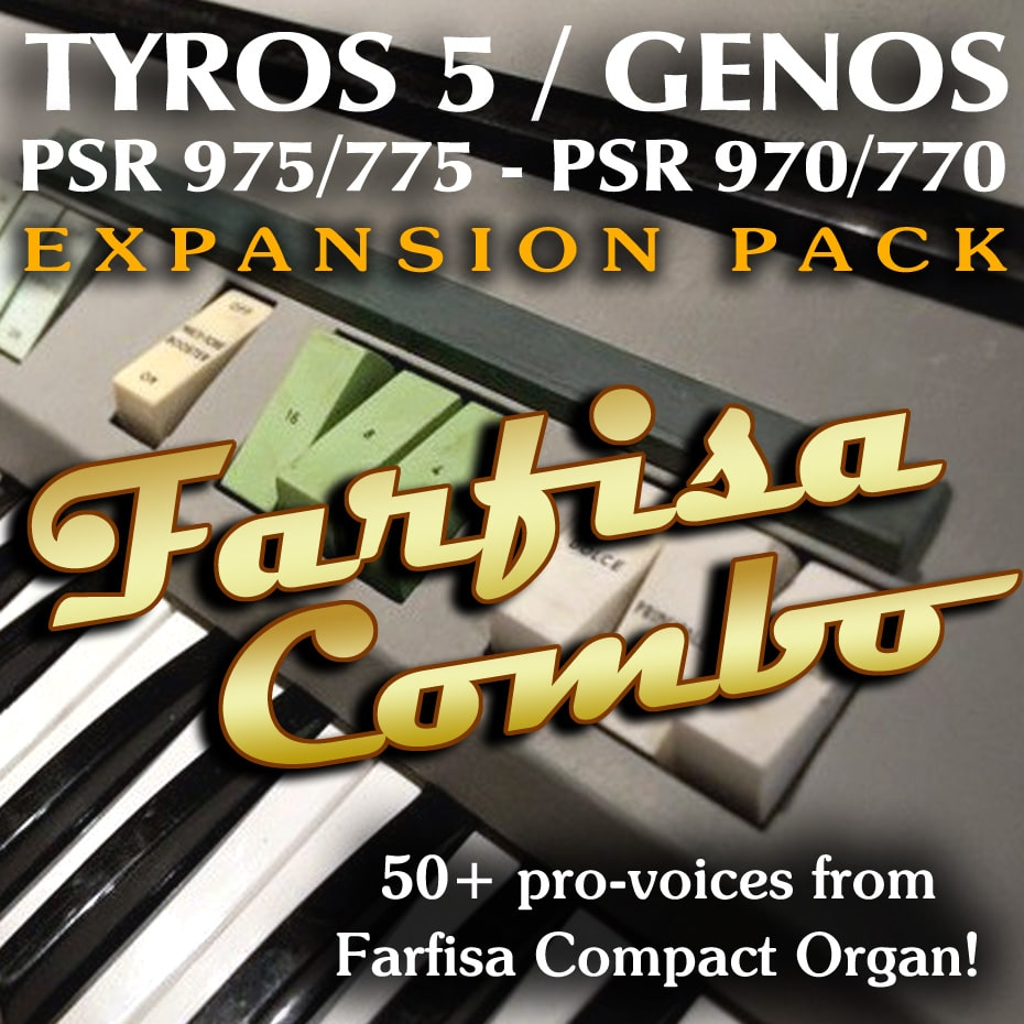 Farfisa Combo Expansion Pack for Yamaha arrangers