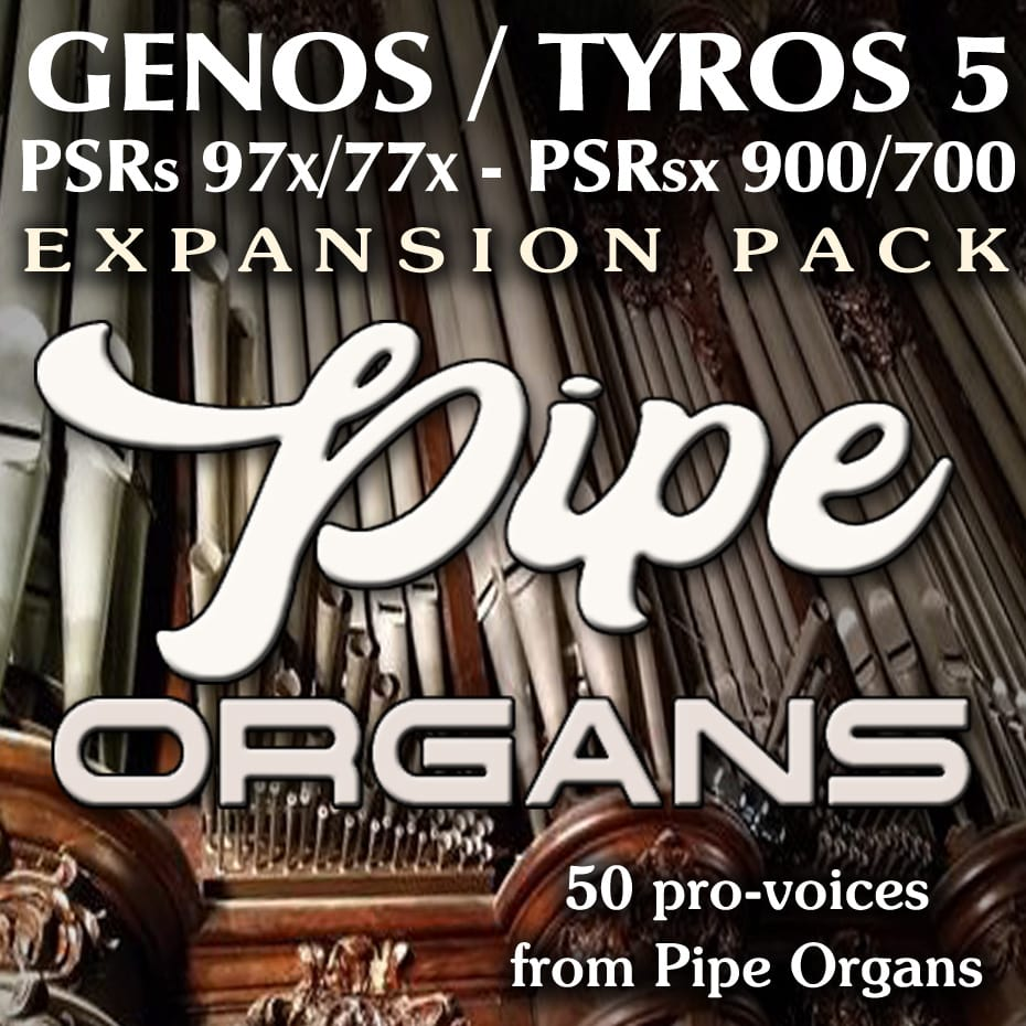 Yamaha Arranger Pipe & Church Organs Expansion Pack