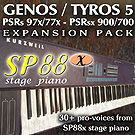 Yamaha Exapnsion Pack SP88x Piano