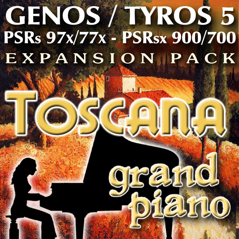 Toscana GRAND PIANO Expansion Pack for Yamaha Arranger